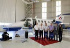 Embraer entrega primeiro Phenom 100 para o programa Military Flight Training System do Reino Unido